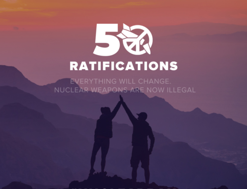 United Nations' Treaty on the Prohibition of Nuclear Weapons Ratified by 50th Country and American Public Health Association Adopts Policy Statement Calling for a Nuclear-Free World